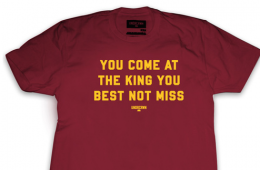 UNDRCRWN x Cleveland Cavaliers 'Come at the King' Tee