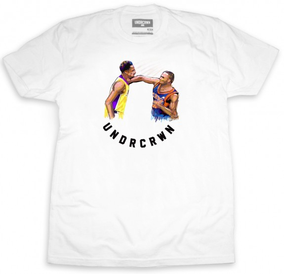 UNDRCRWN Kobe Bryant vs Chris Childs 'Chin Check' Tee