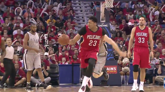 Anthony Davis Powers Pelicans Into Playoffs