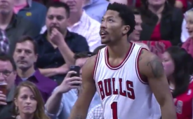 Derrick Rose Turns In Vintage Performance Versus Philly