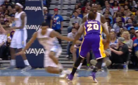 Dwight Buycks With a Mean Crossover On Gary Harris