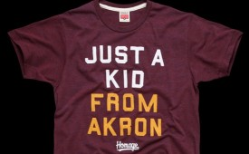 Homage x LeBron James 'Just A Kid From Akron' Tee