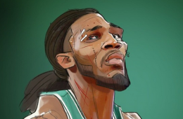 Jae Crowder 'Warrior' Illustration