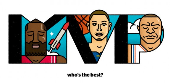 The MVP Race Illustrated