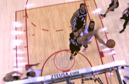 Tim Duncan Game Winning Block on Harden