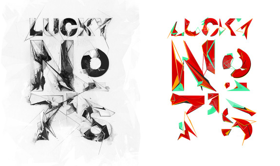 Air Jordan 7 'Lucky Number Seven' Typography