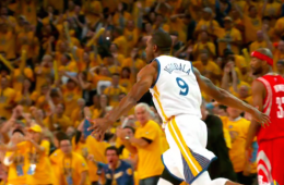 Andre Iguodala Throws the Hammer Down