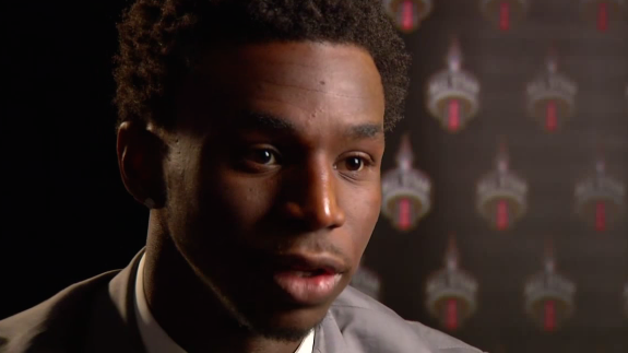 Andrew Wiggins Talks NBA All-Star 2016 Toronto