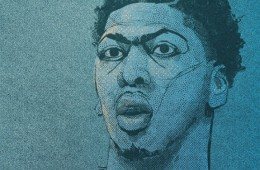Anthony Davis Brow Sketch