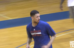 Austin Rivers Shows Up a Few College Freshmen