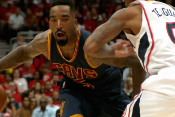 JR Smith Hits a Cavs Record 8 Triples