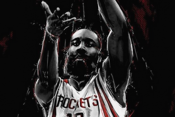 James Harden 'Dinner Is Served' Illustration