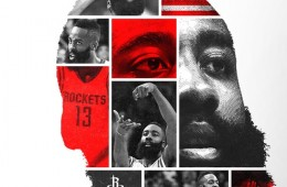 James Harden 'Face of Houston' Animated Portrait