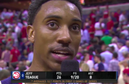 Jeff Teague Scores 28, Hawks Even Series
