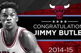 Jimmy Butler Named Most Improved Player