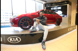 LeBron James Customized 2015 Kia K900 Luxury Sedan