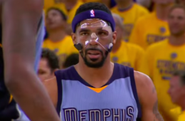 Masked Mike Conley Returns to Beat Warriors