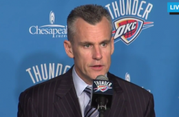OKC Thunder Billy Donovan Introductory Press Conference
