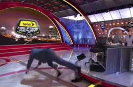 The Best Shaq Falling GIF of All-Time