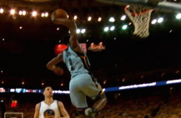Tony Allen 'First Team All-Defense' Dunk