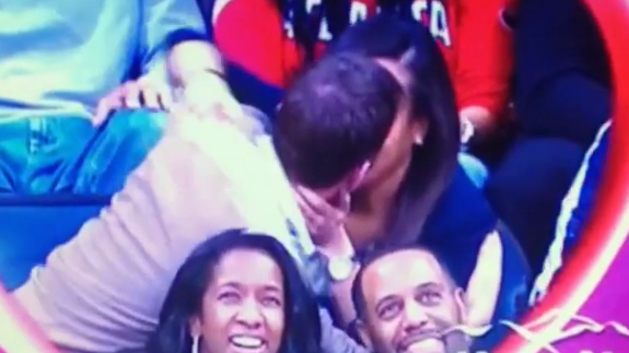 When The Kiss Cam Goes Wrong