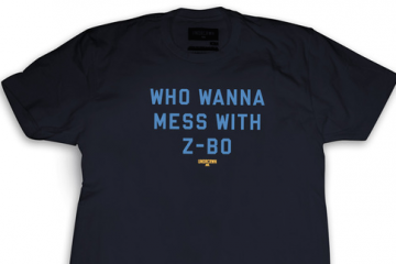 UNDRCRWN x Memphis Grizzlies 'Mess With Z-Bo' Tee