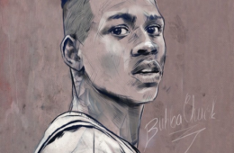 Allen Iverson 'Bubba Chuck' Illustration