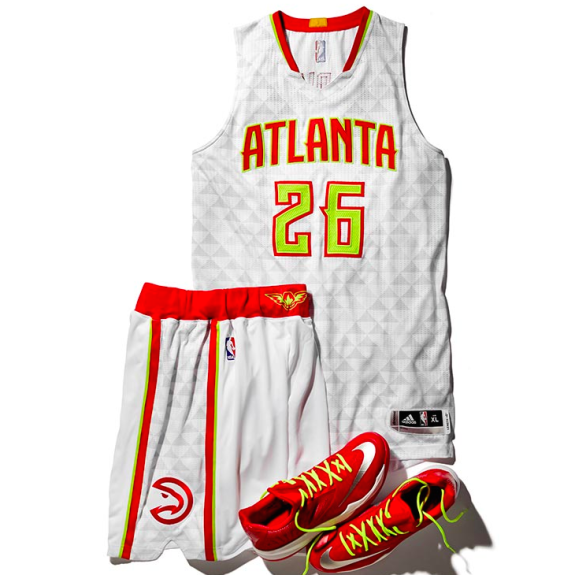Atlanta Hawks Unveil New Uniforms