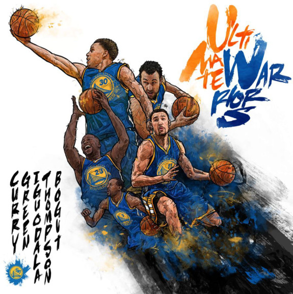 Golden State Ultimate Warriors Illustration