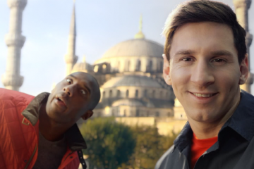 Kobe vs Messi Named Commercial of the Decade
