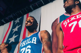 Philadelphia-76ers-Unveil-New-Uniforms-1