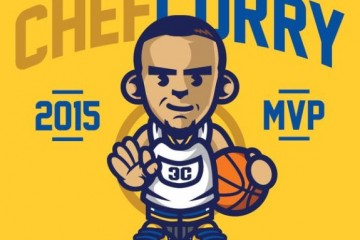 Stephen Curry '2015 MVP Chef Curry' Art