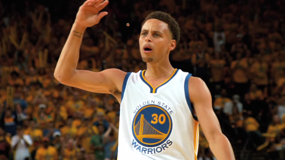 Stephen Curry Scores 37, Warriors One Win Away