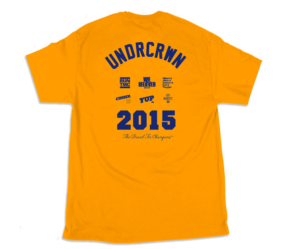 UNDRCRWN x Warriors 'Best Team In The World' Tee