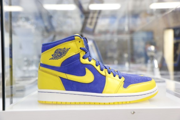 Michael Jordan Laney High School Exhibit