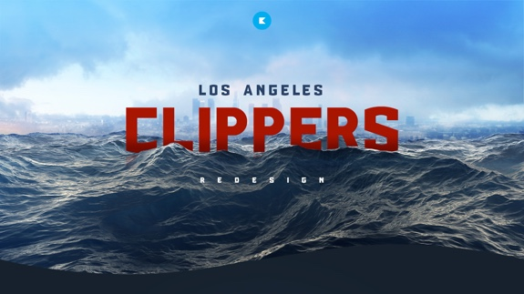 Another Solid LA Clippers Branding Concept