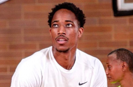 DeMar DeRozan Gets a Triple-Double at the Drew League