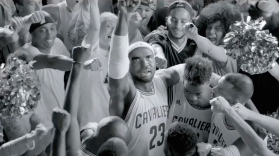 Drake Imitates LeBron James In New Energy Video