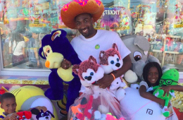 Gilbert Arenas Banned from County Fair Basketball Games