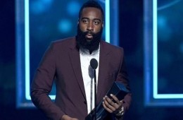 James Harden Named MVP at NBA Players Awards