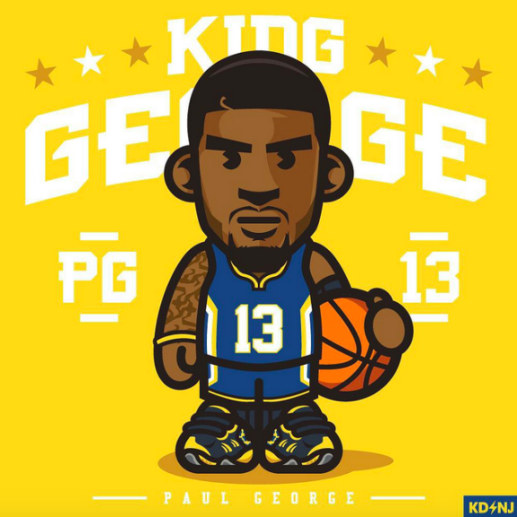 Paul George 'King George' Art