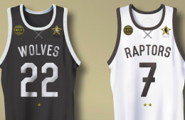 Toronto 2016 NBA All-Star Jerseys Concept