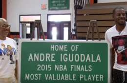 Andre Iguodala Returns Home a Hero