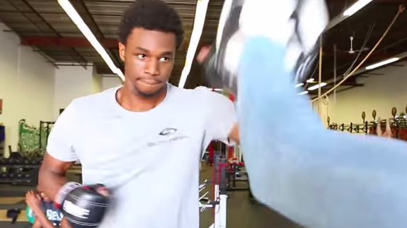 Andrew Wiggins Is Going HAM In the Gym