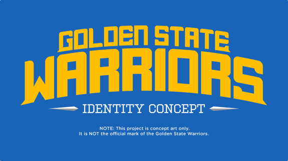 Golden State Warriors Identity Concept