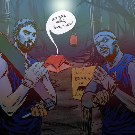 Grizzlies Gonna Eat Illustration