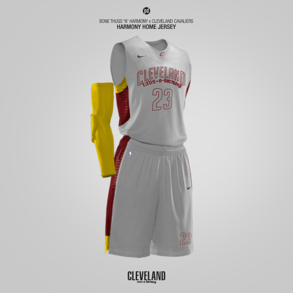 Nike x NBA Jerseys x Rap Artists Part II