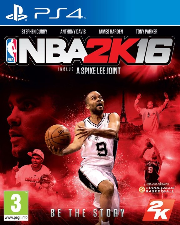 Tony Parker Gets NBA 2K16 Cover In France
