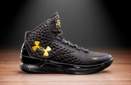 Under Armour Curry One 'Black and Gold Banner′