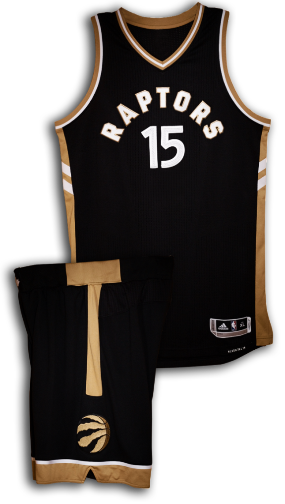 Drake Unveils New Raptors Uniforms at OVO Fest